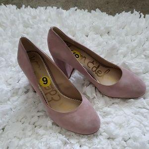Sam Edelman pink Stillson heels